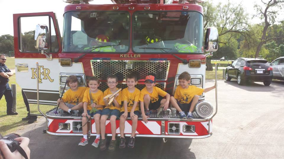 Rocket Launch - Keller Fire Truck